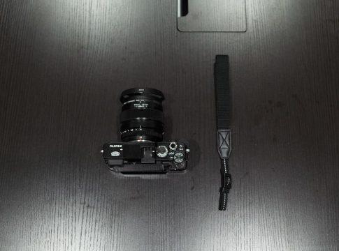 X-E2のハンドストラップ