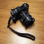 ミラーレスカメラ用ハンドストラップレビュー