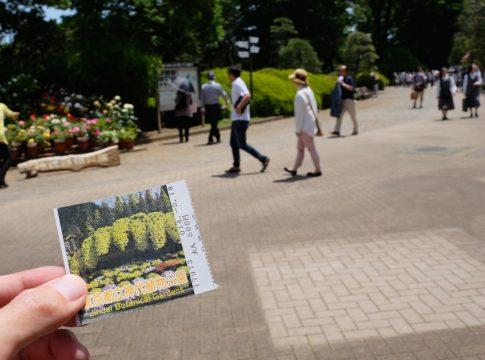 神代植物公園入場チケット券