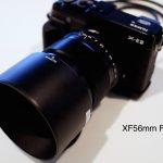 XF56mmで試し撮り!