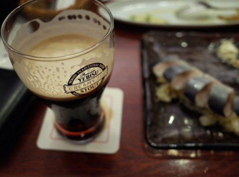 黒ビールの写真