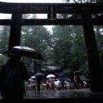雨天での撮影(GRで東照宮を撮る)