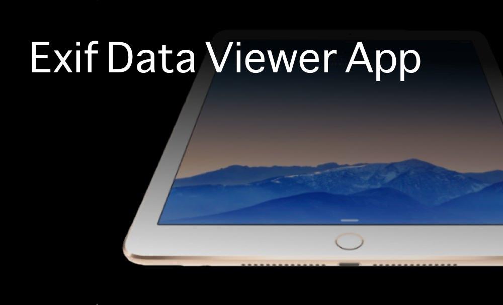 iPadのExifビューワーアプリ