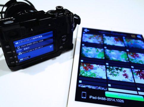 iPad-Wifi写真転送